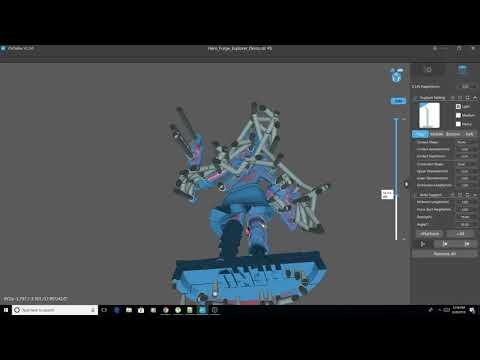 Quick Basic Tutorial on Resin Supports using Chitubox 1.5
