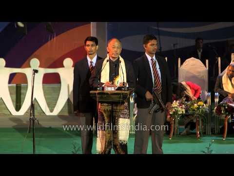 Shri Okram Ibobi Singh highlights the problems of Manipur