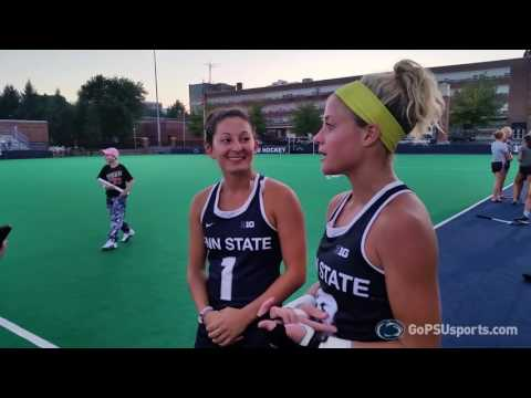 Field Hockey Post Game vs. Old Dominion (8/26/16)