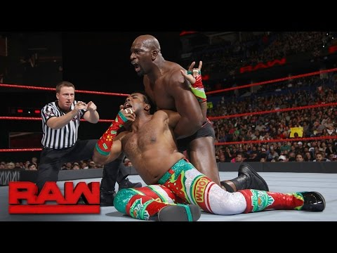 Xavier Woods vs. Titus O'Neil: Raw, Jan. 2, 2017
