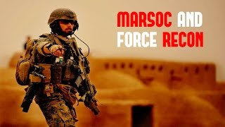 MARSOC and Force Recon