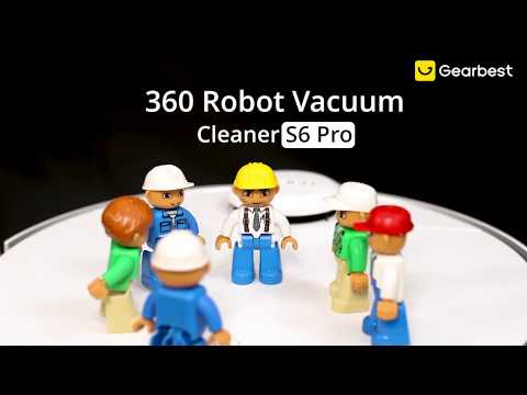Best Upcoming 360 S6 Pro Robot Vacuum Cleaner in 2020? | How is Good? - Gearbest
