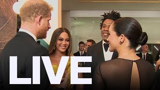 Meghan Markle Meets Beyonce At 'lion King' Premiere  Et Canada Live
