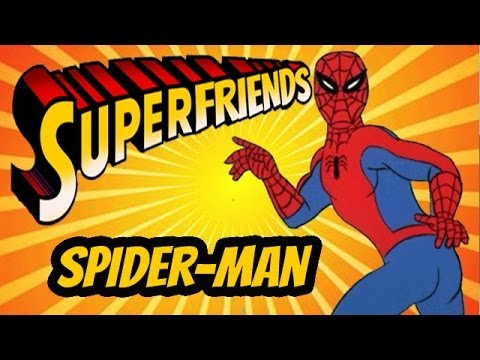Spiderman (PS1) - The Amazing Superfriends!