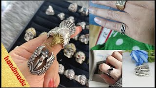 Thai 925 silver ring, beautiful Thailand silver, the store offers 100% pure silver
