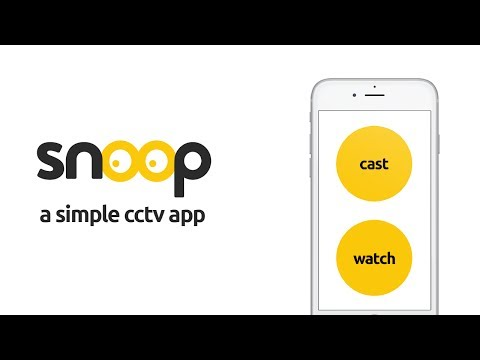 Snoop - A Simple CCTV Camera - Apps on Google Play