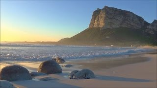 1 hour relaxation video - gentle ocean waves washing onto beautiful secluded beach - HD 1080P
