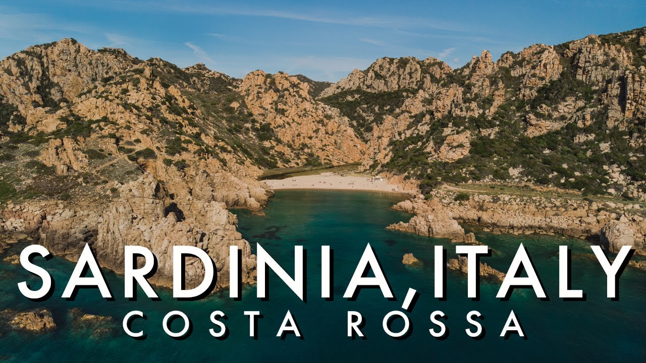 Costa Rossa Sardegna - 4k Sardinia's Red Coast
