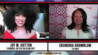 Joy M. Hutton Dishes On Her New On The Go Glam App & Starring on OWN's Reality Show Ready To Love