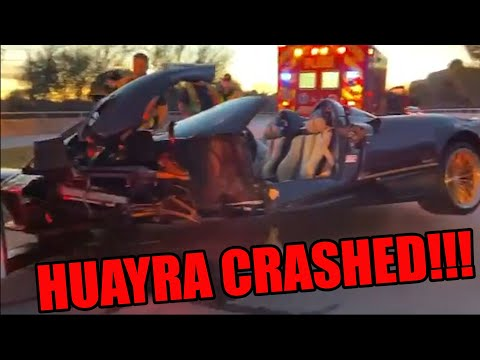 17 YEAR OLD CRASHES DADS PAGANI HUAYRA ROADSTER IN DALLAS TEXAS!!! *EXCLUSIVE VIDEOS*