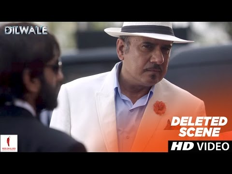 Dilwale  Deleted   Boman Irani As The Bad King  Shah Rukh Khan, Kajol