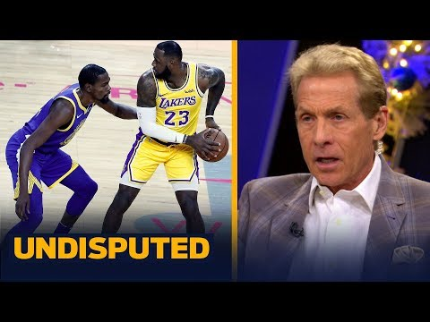 Skip and Shannon react to LeBron being 'pissed off' by Durant's 'toxic' comments | NBA | UNDISPUTED