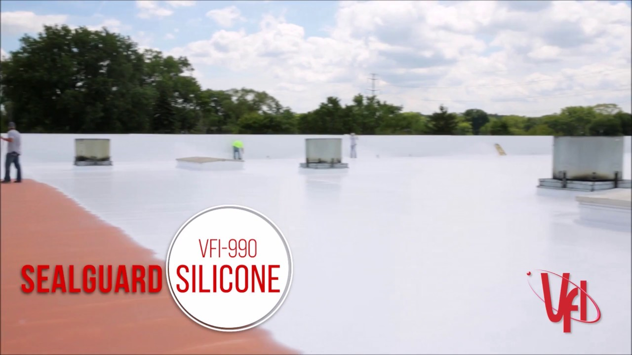 How To Apply VFI Silicone Roof Coating