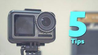 유용한 오즈모 액션 사용 꿀팁 5가지!
