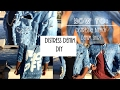 Fashion DIY | HOW TO: Distress & Bleach Denim Shirt - (HOME TUTORIAL)
