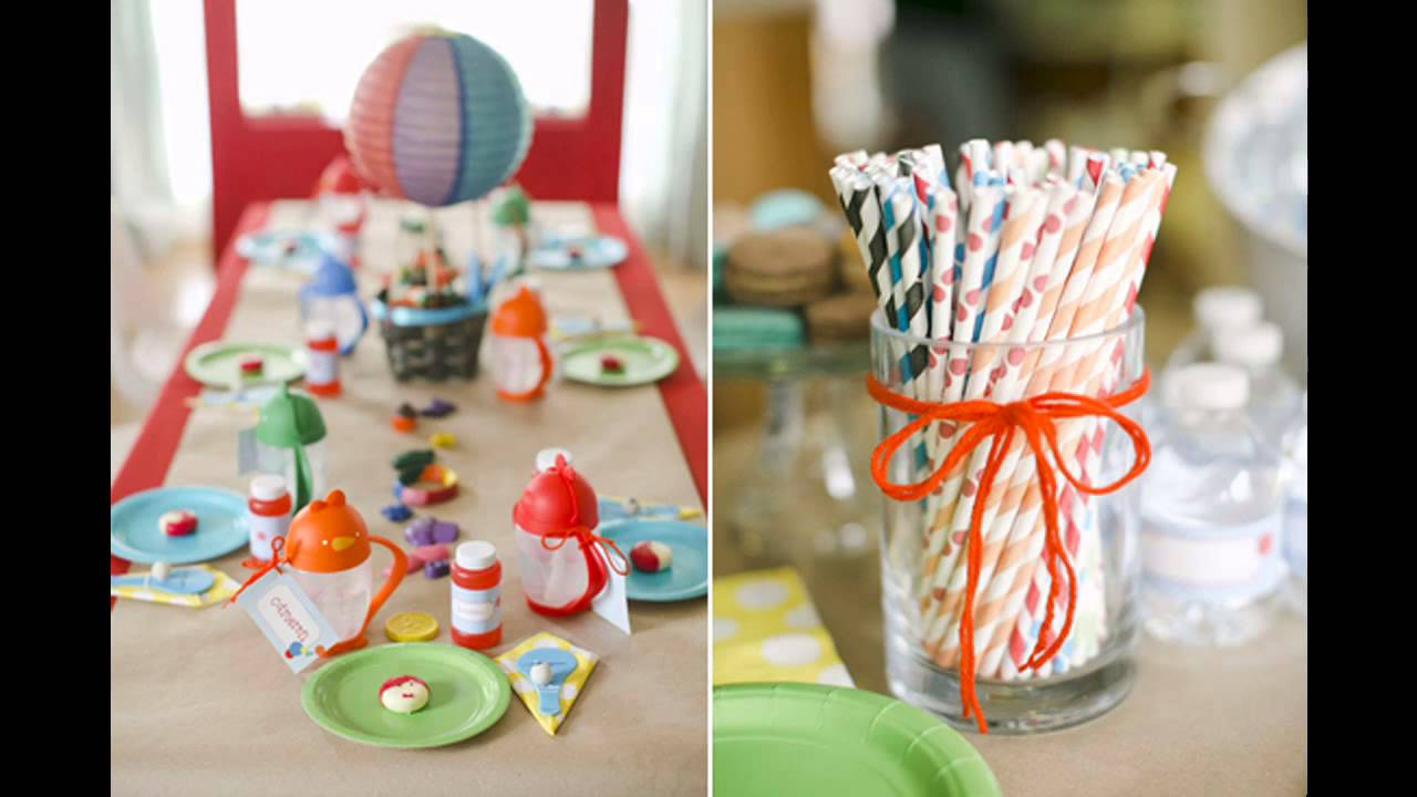 Boys Birthday Party Decorations At Home Ideas