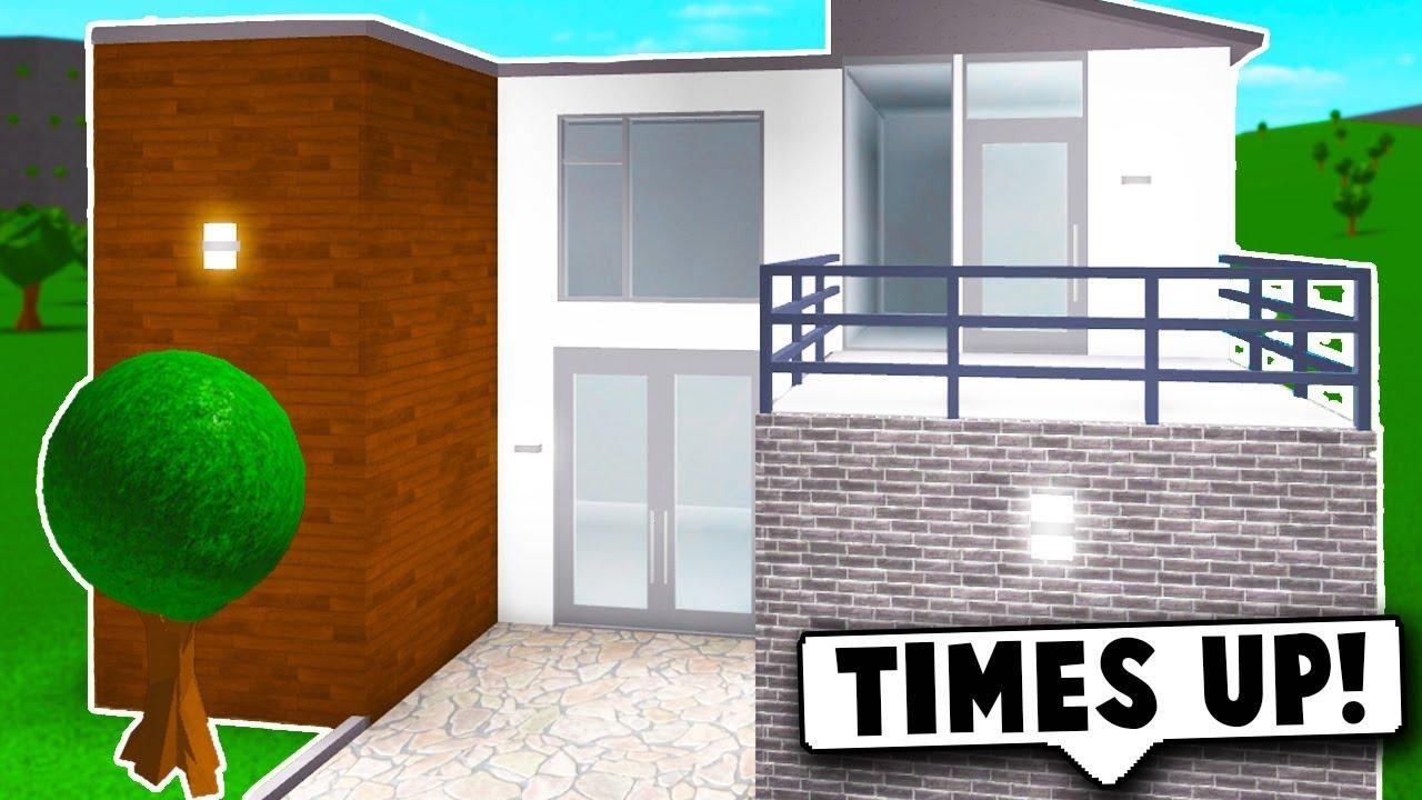 I Did The 10 Minute House Challenge On Bloxburg Roblo