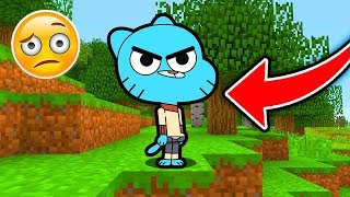 Minecraft : GUMBALL KILLED ME! (Ps3/Xbox360/PS4/XboxOne/WiiU)