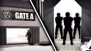 ESCAPING THE FACILITY! - SCP Containment Breach - Gate A Ending