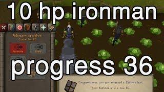 [OSRS] 10HP IM Progress 36: First gangsters :)