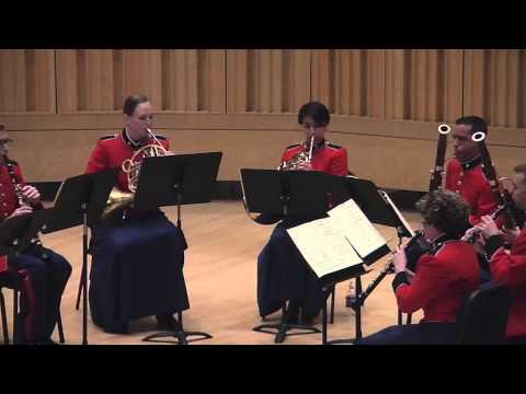 """MOZART Serenade No. 11 in E-flat, K. 375 - """"The President's Own"""""""