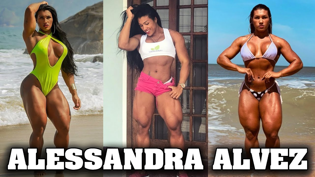 Download Reel Muscle Presents: Alessandra Alvez (Brazilian She-Hulk)