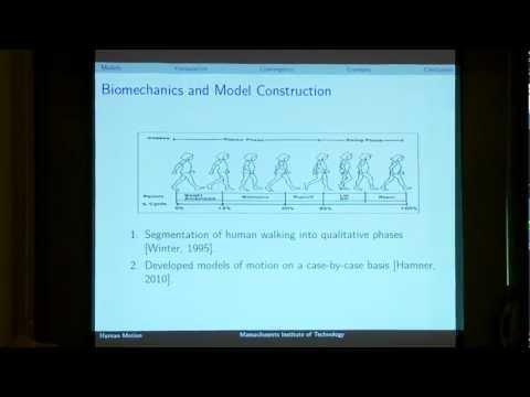 Identification of Hybrid Dynamical Models of Human Motion by Ram Vasudevan