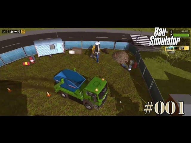 Let's Play Bau-Simulator 2015   Baggern und der Bug-Container   Folge #002