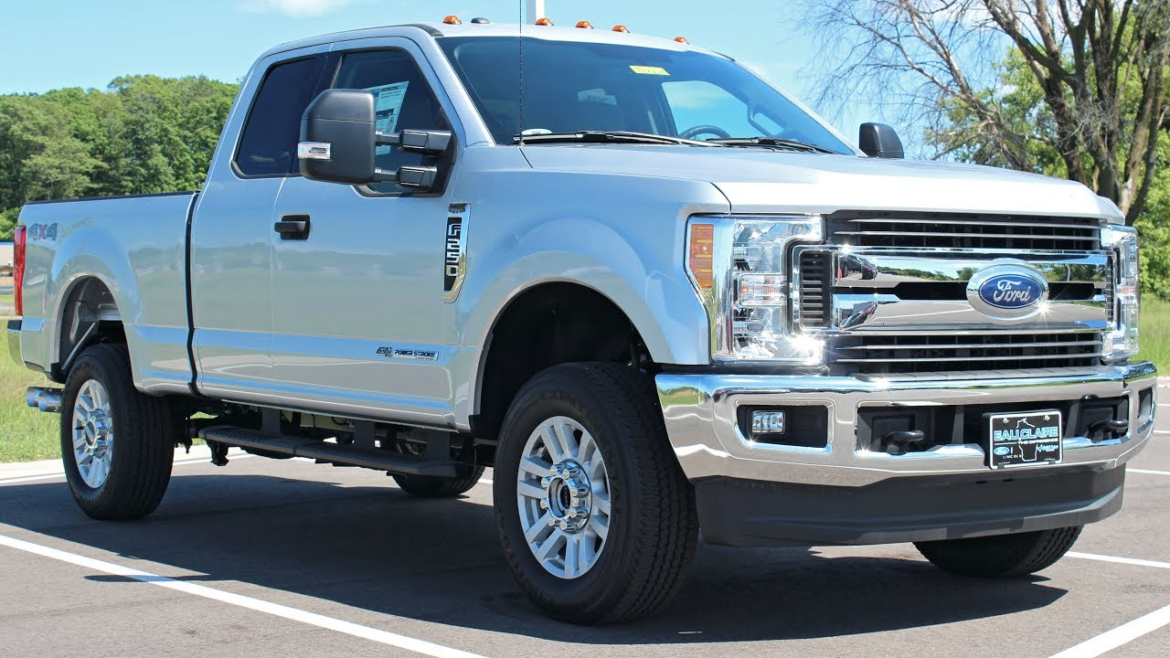 F250 Super Cab >> 2017 Ford F 250 Super Duty Xlt Super Cab 6 7l Power Stroke At Eau Claire Ford Lincoln Quick Lane