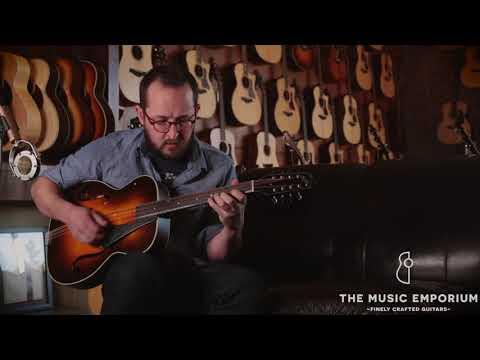 Northfield Mahogany Archtop Octave Mandolin @ The Music Emporium