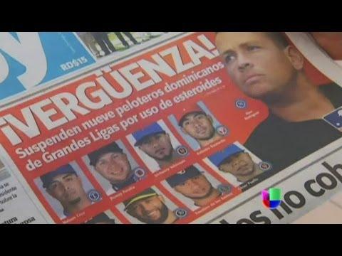 Conmoción en República Dominicana por suspensiones en las Grandes Ligas - Noticiero Univisión