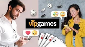 VIP Games: Kontakte knüpfen, chatten und kostenlos online Karten- und Brettspiele spielen!