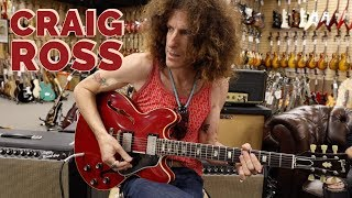 Craig Ross from Lenny Kravitz's Band playing a 1964 Gibson ES-335TDC at Norman's Rare Guitars Video