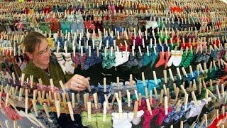 Wohin verschwinden eigentlich Socken in der Waschmaschine?