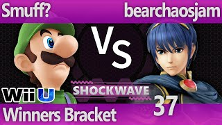 SW 37 Wii U - Smuff? (Luigi) vs bearchaosjam (Marth, Zelda) - Winners Bracket