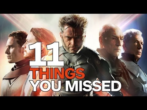 11 Easter Eggs You Missed X-Men: Days of Future Past from YouTube · Duration:  3 minutes 23 seconds