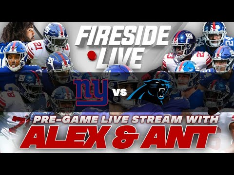New York Giants V Carolina Panthers Pre-Game Stream