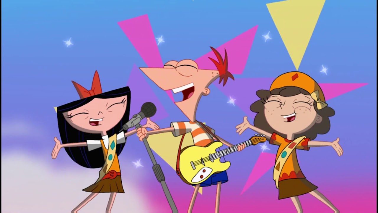 Gitchee Gitchee Goo Phineas And Ferb 1080p Song Youtube