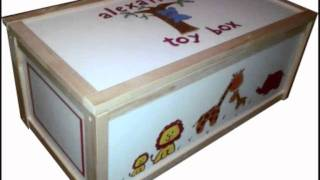 Boxes O' Fun - Truely Personalised Toy Boxes