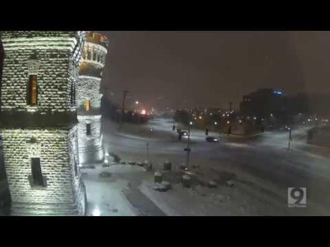 Cincinnati Snow Timelapse