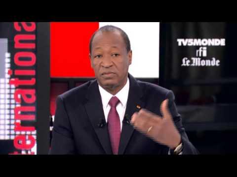 Blaise Compaoré dans Internationales - Dimanche 8 décembre 2013