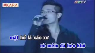 Cơn mưa tình yêu (karaoke thiếu giọng nữ)