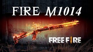 🔥 NUEVO ASPECTO DE ARMA FREE FIRE: FIRE M1014 🔥