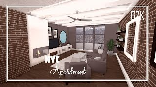 ROBLOX: Bloxburg | NYC Apartment - Speed build. 67K
