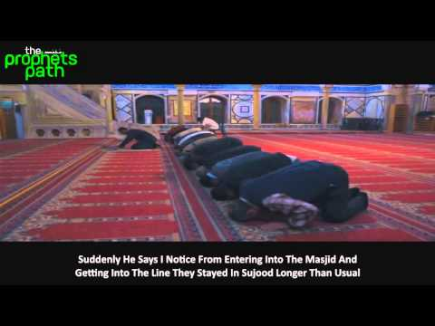 Touching Reminder Of Imam Died In Sujood