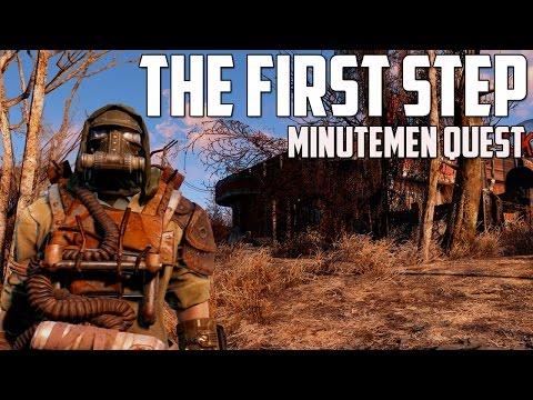 Fallout 4 - The First Step - Minutemen Quest Walkthrough