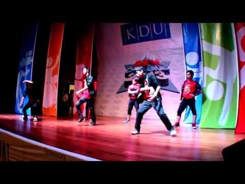 KDU, MY Challenge 2013 (Modern Dancing Prelims)  SMK St Gabriel - Chong Zhen Yao