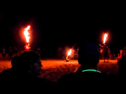 Ohio Burn Unit Fire Dancing Night 1 At Summer Samba