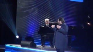 Шарип Умханов(Шариф)- 'Два стрижа'/Юбилейный концерт Раймонда Паулса.Крокус Сити Холл.26.02.2016