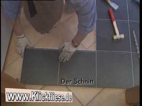 Interessant Klickfliese-das innovative Verlegesystem - YouTube KH96